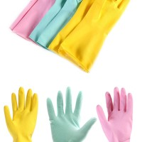 harga sarung tangan korea cuci piring latex gloves wash anti selip waterprof Tokopedia.com
