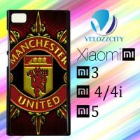 Custom Casing HP Xiaomi Mi3. Mi4, Mi4i, Mi5 manchester united logo gre