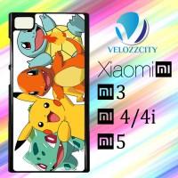 Custom Casing HP Xiaomi Mi3. Mi4, Mi4i, Mi5 pokemon Z3777 Hardcase, Cu