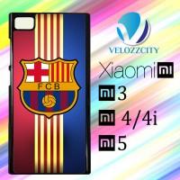Custom Casing HP Xiaomi Mi3. Mi4, Mi4i, Mi5 FC Barcelona Logo Z3749 Ha
