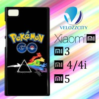 Custom Casing HP Xiaomi Mi3. Mi4, Mi4i, Mi5 Pokemon Go art Z3774 Hardc