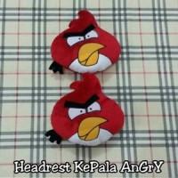 harga Headrest/Sandaran Kepala/Bantal Mobil Boneka Angry Bird/Merah Tokopedia.com
