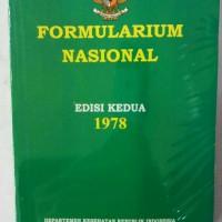 Formularium Nasional Edisi Kedua 1978 ( Depkes Ri)