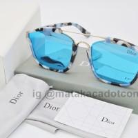 Kacamata Sunglass Dior Abstract III Biru Muda II