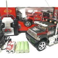 harga MOBIL REMOTE JEEP KING DRIVER/MONZ TRUCK RC Tokopedia.com