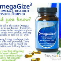 Young Living OMEGAGIZE (120 caps) nutrisi vitamin