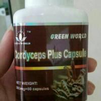 OBAT ASMA/BRONKHITIS/TBC/CORDYCEPS PLUS CAPSULE GREEN WORLD