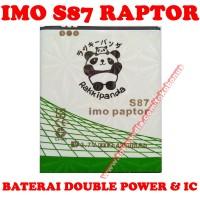 Baterai IMO S87 Raptor Rakki Panda Battery Batrai Batere Batre