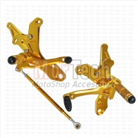 Footstep - Foot Step depan - Underbone CNC M-Sato Jupiter MX 135 Gold