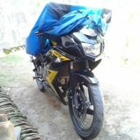 Selimut Motor Sport Ninja RR Parasut Poliester Waterproof Anti Air
