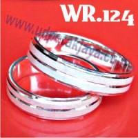 Cincin Kawin Perak Bergaransi WR.124