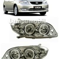 Crystal Rim - Lampu Depan Toyota Vios 2003-2005 (SET)