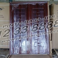 0812 33 8888 61 (JBS ), Pintu Rumah Minimalis 2 Pintu Besar Kecil Baja