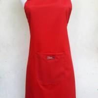 harga Celemek Polos - Merah Tokopedia.com
