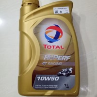 Oil TOTAL Hi-Perf 4T SAE 10W-50 Racing Full Synthetic