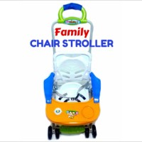 family chair stroller kursi makan dorong bayi anak meja roda fc 8288