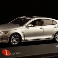 J-Collection 1/43 Lexus GS 450 H Hybrid Silber