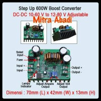 Step UP Boost Converter 600 Watt 12-80V DC-DC Adjustable