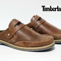harga Sepatu sandal pria/kulit timberland bustong Tokopedia.com