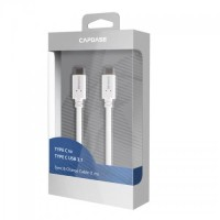 Capdase Usb Type-C To Type-C Data Sync Charge Cable For Apple Macbook