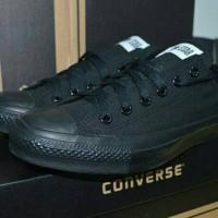 sepatu sekolah anak - dewasa converse allstar full black murah