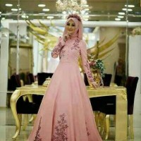 HIJAB MARRISA/MAXI DRESS/LONGDRESS ELEGANT/GAMIS MODERN