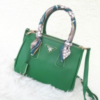 Prada Saffiano Mini (uk.25) Green