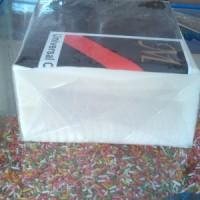 Coklat blok putih / white chocolate merk Mercolade
