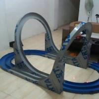 Track Tamiya Mini 4WD Pindah Jalur