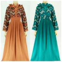 Dress Gamis Solo / Gamis Semi Sutra /