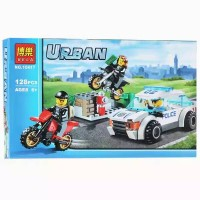 LEGO BELA 10417 City Urban Police (inc 3 minifigures)