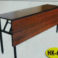 harga meja meeting lipat meja panjang HPL kaki lipat meja cafe kursi kafe Tokopedia.com