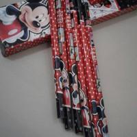 Pensil 2B Karakter Disney Isi 12 Pcs