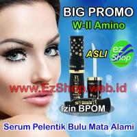 WII Amino Long Lashes Solution Penumbuh & Penebal Bulu Alis Mata Alami