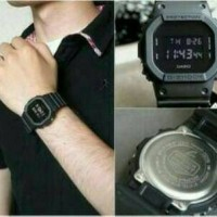 CASIO GSHOCK DW5600 JAM G-SHOCK DW-5600 ALL BLACK