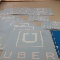 Sticker Cutting Ojek Oline / taxi onlinr UBER Set