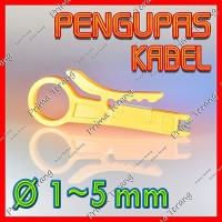 Pengupas Kabel Putar UTP Cable Mini Rotary Wire Stripper 1mm - 5mm