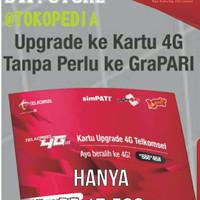 Kartu Perdana UPGRADE TELKOMSEL 4G LTE AS SIMPATI LOOP Murah Bandung
