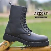 SEPATU BOOTS AZCOST UNDERGROUND NET BLACK 39 - 43