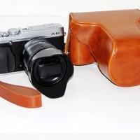 Tas Kamera Fujifilm XE1/XE2 Coklat Muda