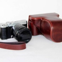Tas Kamera Fujifilm XE1/XE2 Coklat Tua