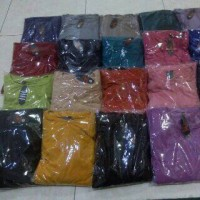 gamis polos jersey super by rivantie