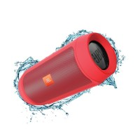 JBL Charge 2+ Red Portable Bluetooth Speaker USB Wirele Limited