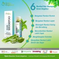 Sampo Green Angelica Penghilang Ketombe dan Rontok Parah
