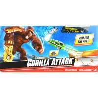 Pajangan Miniatur Diecast Mobil Gorilla Attack Track Set Hot Wheels