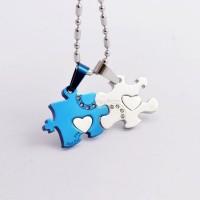 KALUNG COUPLE - BLUE PUZZLE NECKLACE