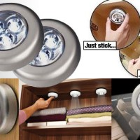 Lampu Mini LED Stick n Click / Lampu Darurat Tempel Stick n Click