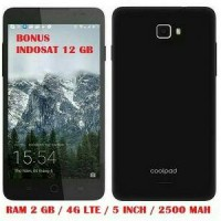 NEW!!! COOLPAD ROAR 3, RAM 2GB 4G LTE BONUS INDOSAT OREDO 12GB