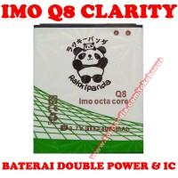 Baterai IMO Q8 Clarity Octacore Rakki Panda Battery Batrai Batere Batr