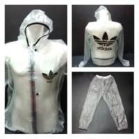 harga Baju dan celana sauna ADIDAS - Multifungsi - Jas Hujan -  Rain coat Tokopedia.com